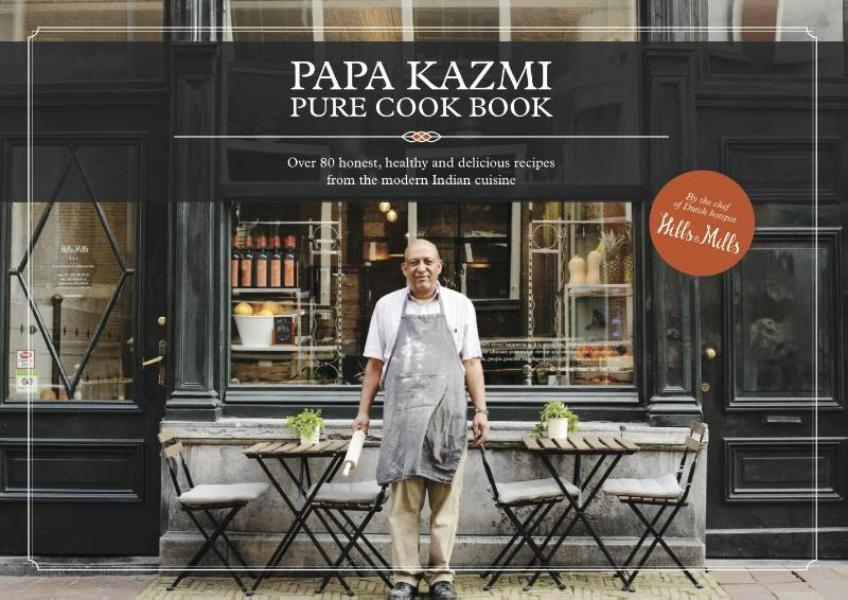Cover Papa Kazmi pure cook book
