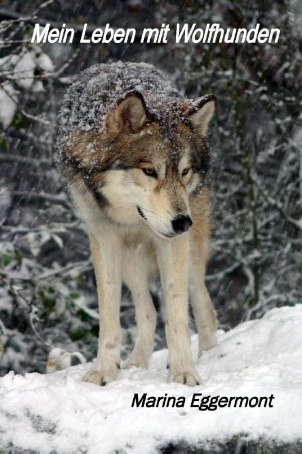 Cover Mein leben mit wolfhunden