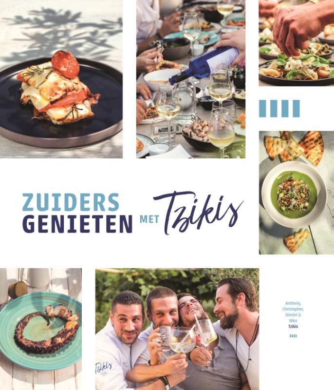 Cover Zuiders genieten met Tzikis