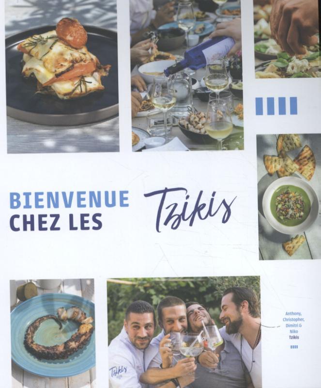 Cover Bienvenue chez les Tzikis