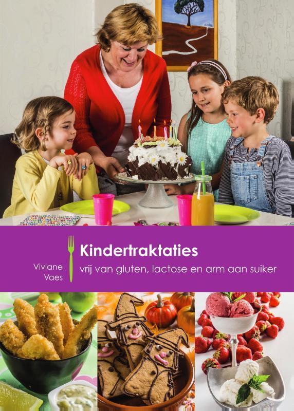 Cover Kindertraktaties vrij van gluten, lactose en arm aan suiker