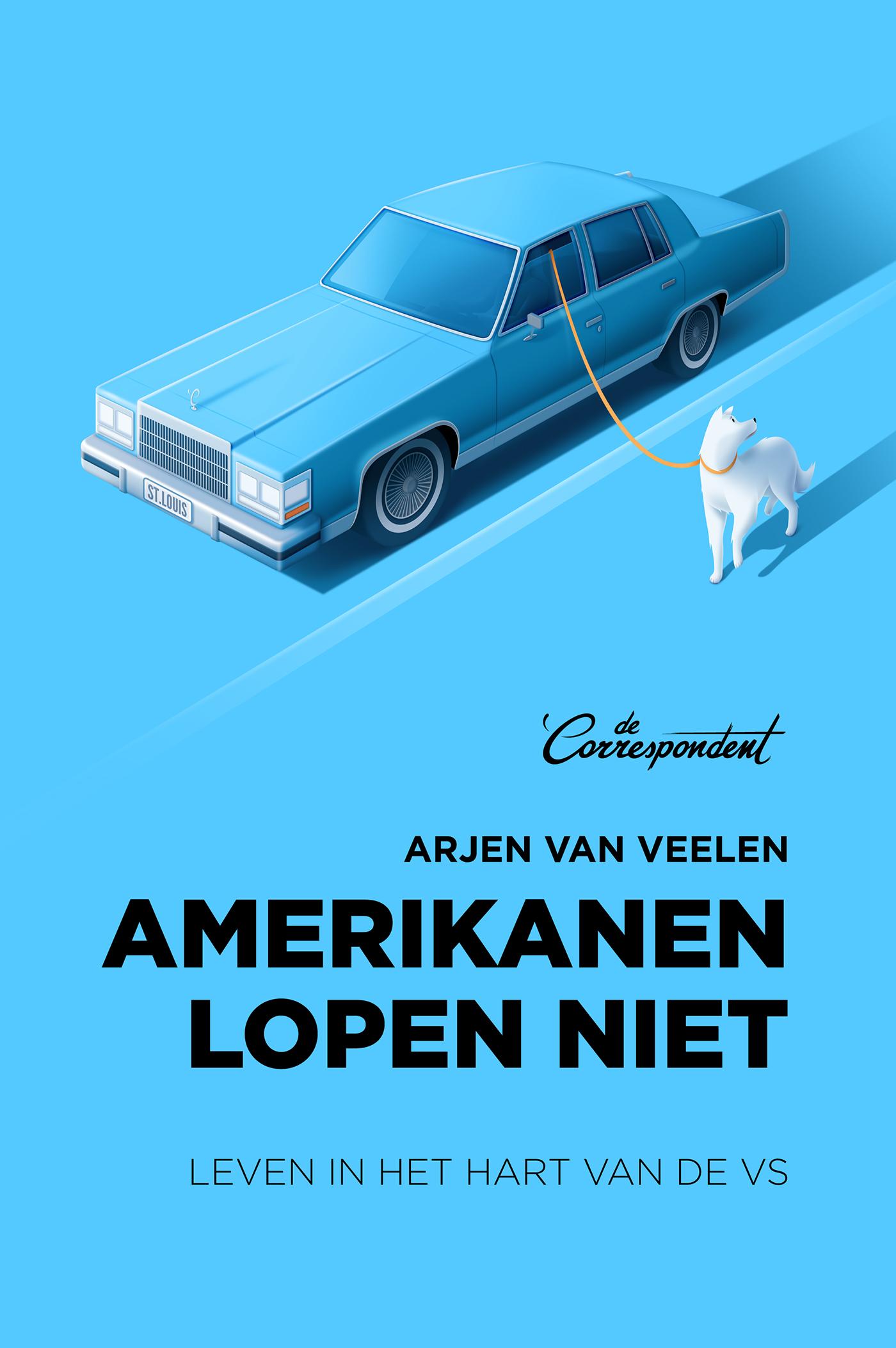 Cover Amerikanen lopen niet