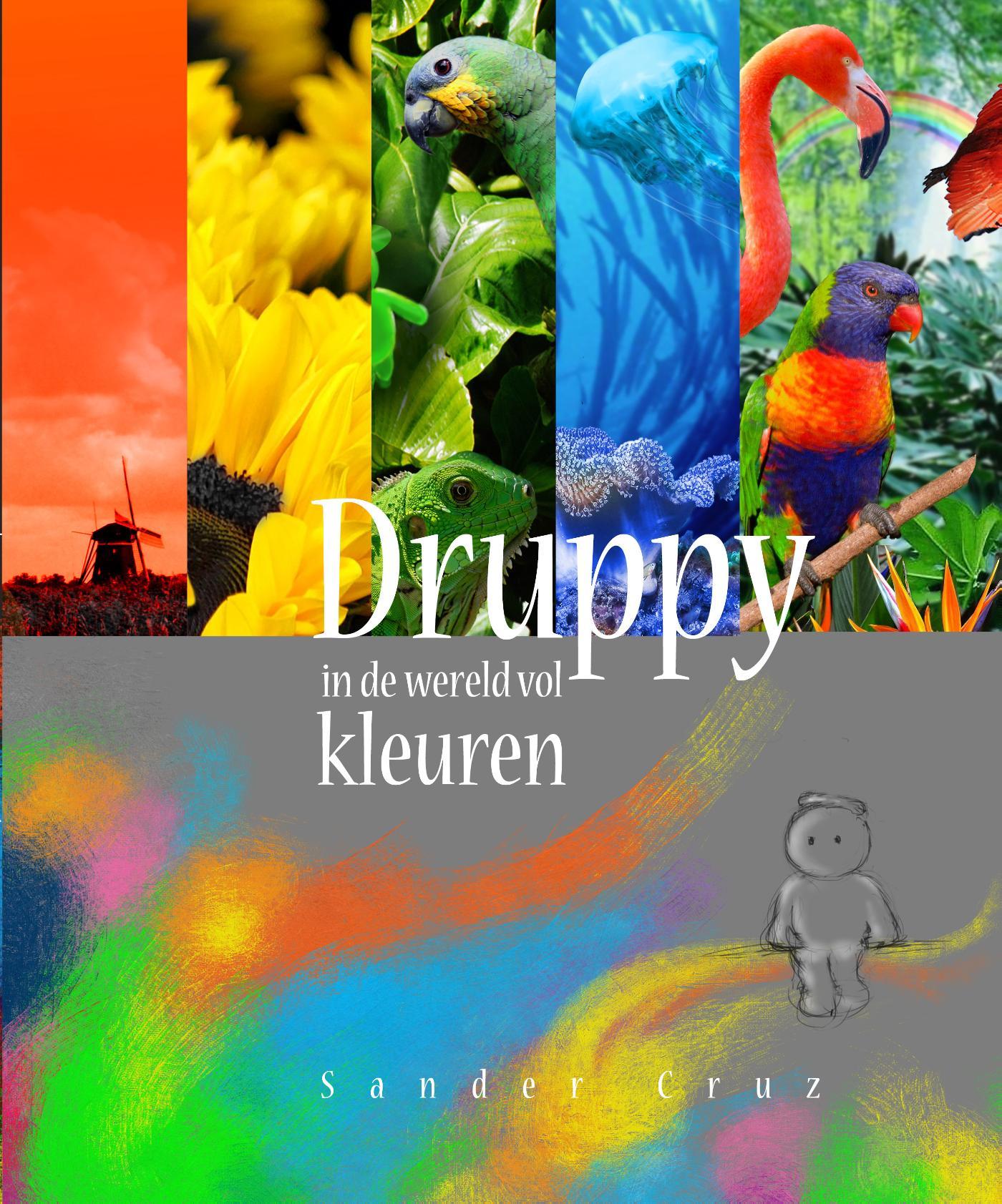 Cover Druppy in de wereld vol kleuren
