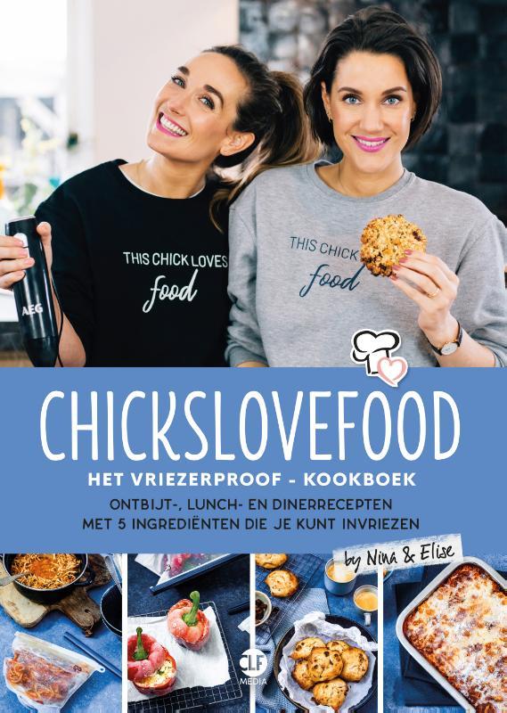 Cover Chickslovefood: Het vriezerproof-kookboek