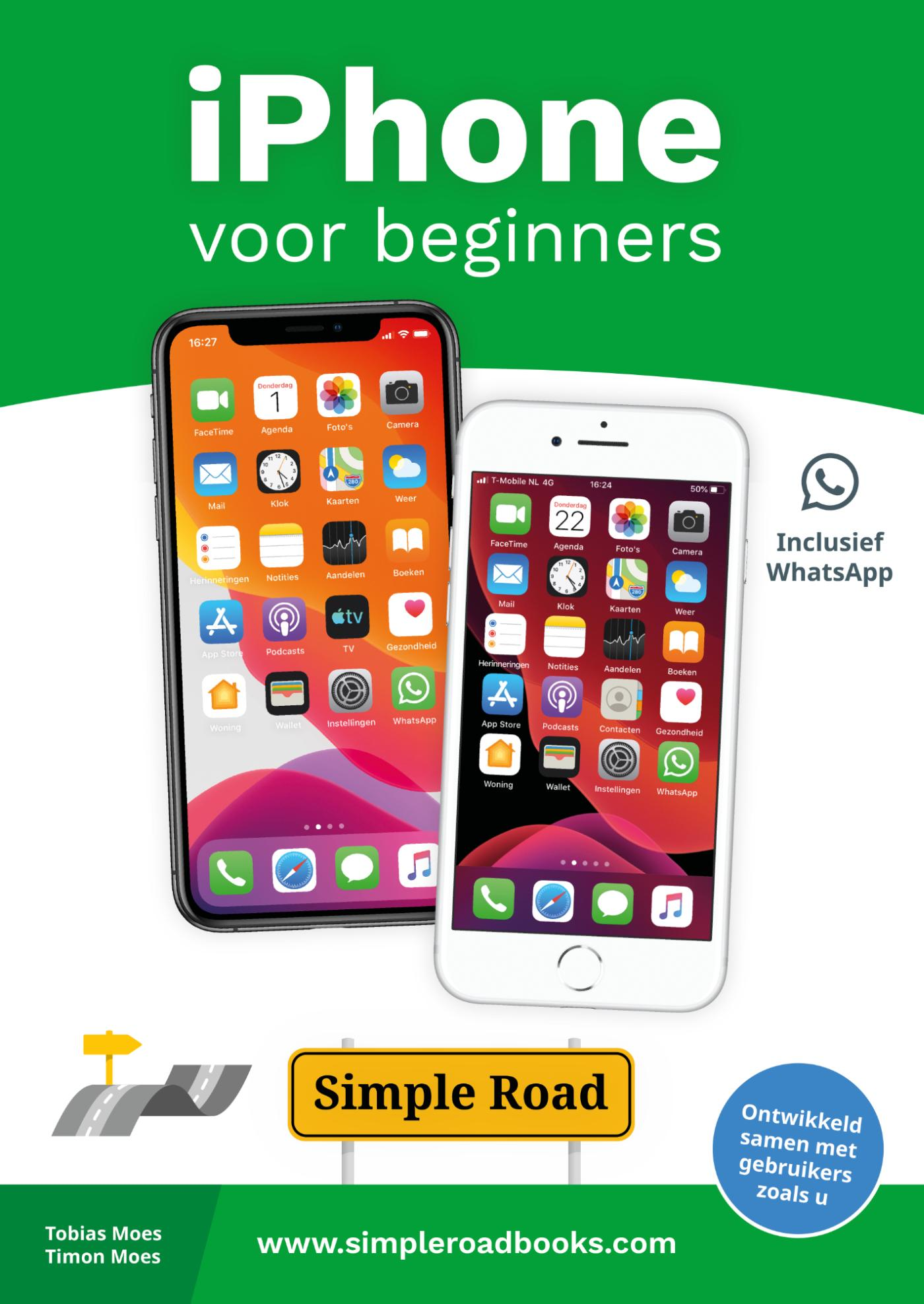 Cover iPhone voor beginners