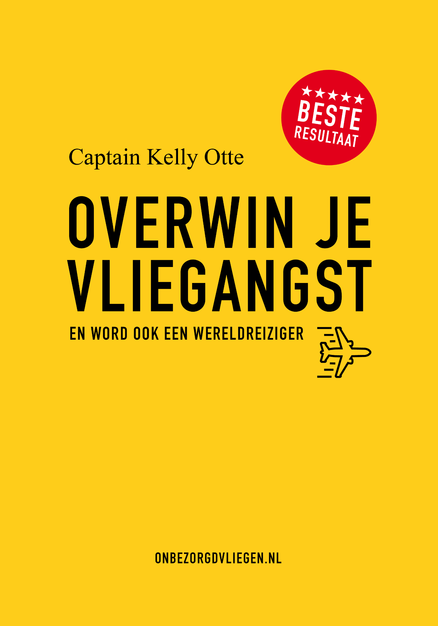 Cover Overwin je vliegangst
