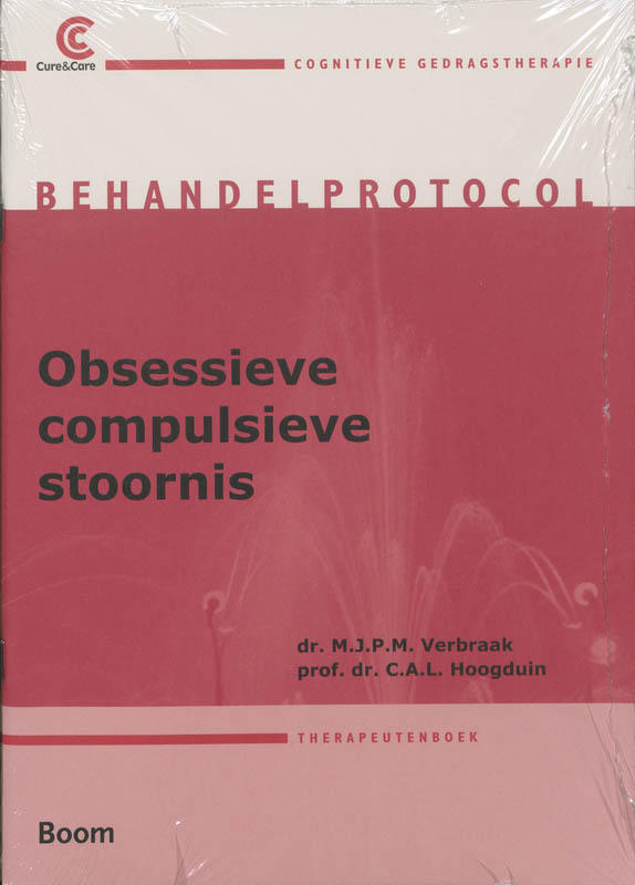 Cover Obsessieve-compulsieve stoornis behandelprotocol