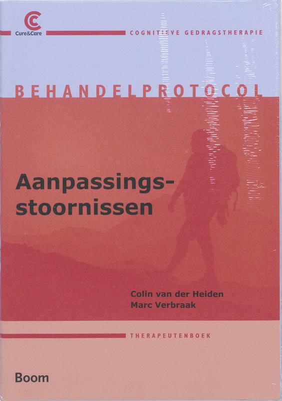 Cover Behandelprotocolaanpassingsstoornissen set 2 ex