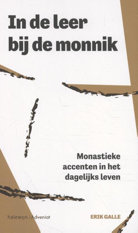 Cover In de leer bij de monnik