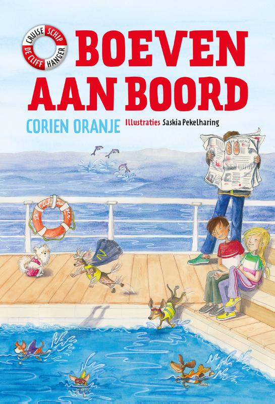 Cover Boeven aan boord