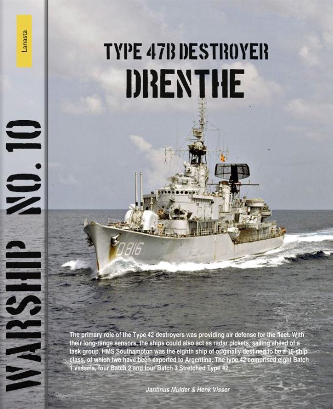 Cover Type 47b destyroyer Drenthe