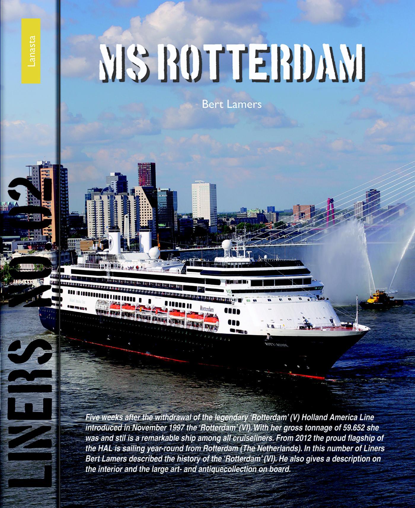 Cover MS Rotterdam