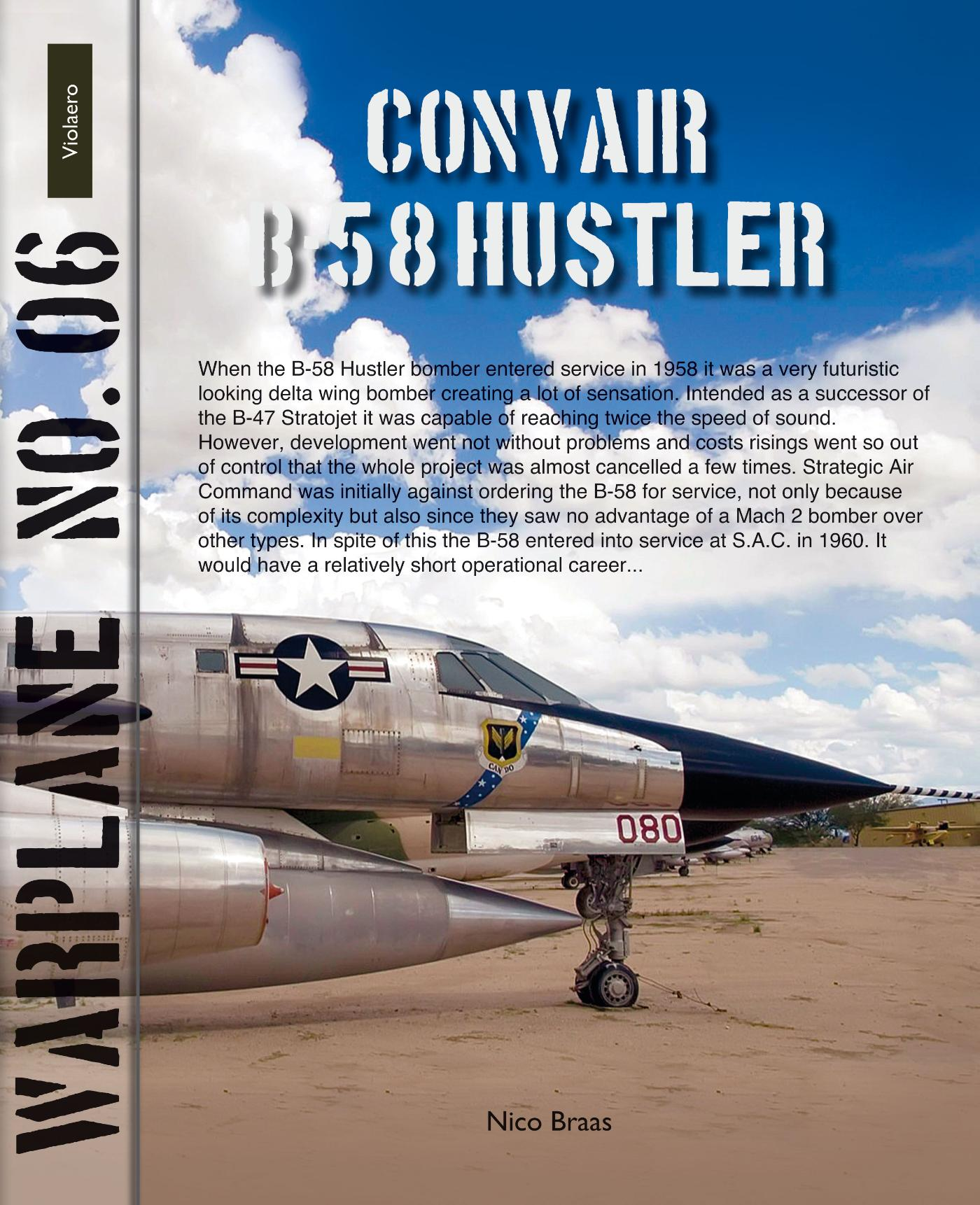 Cover Convair B-58 Hustler