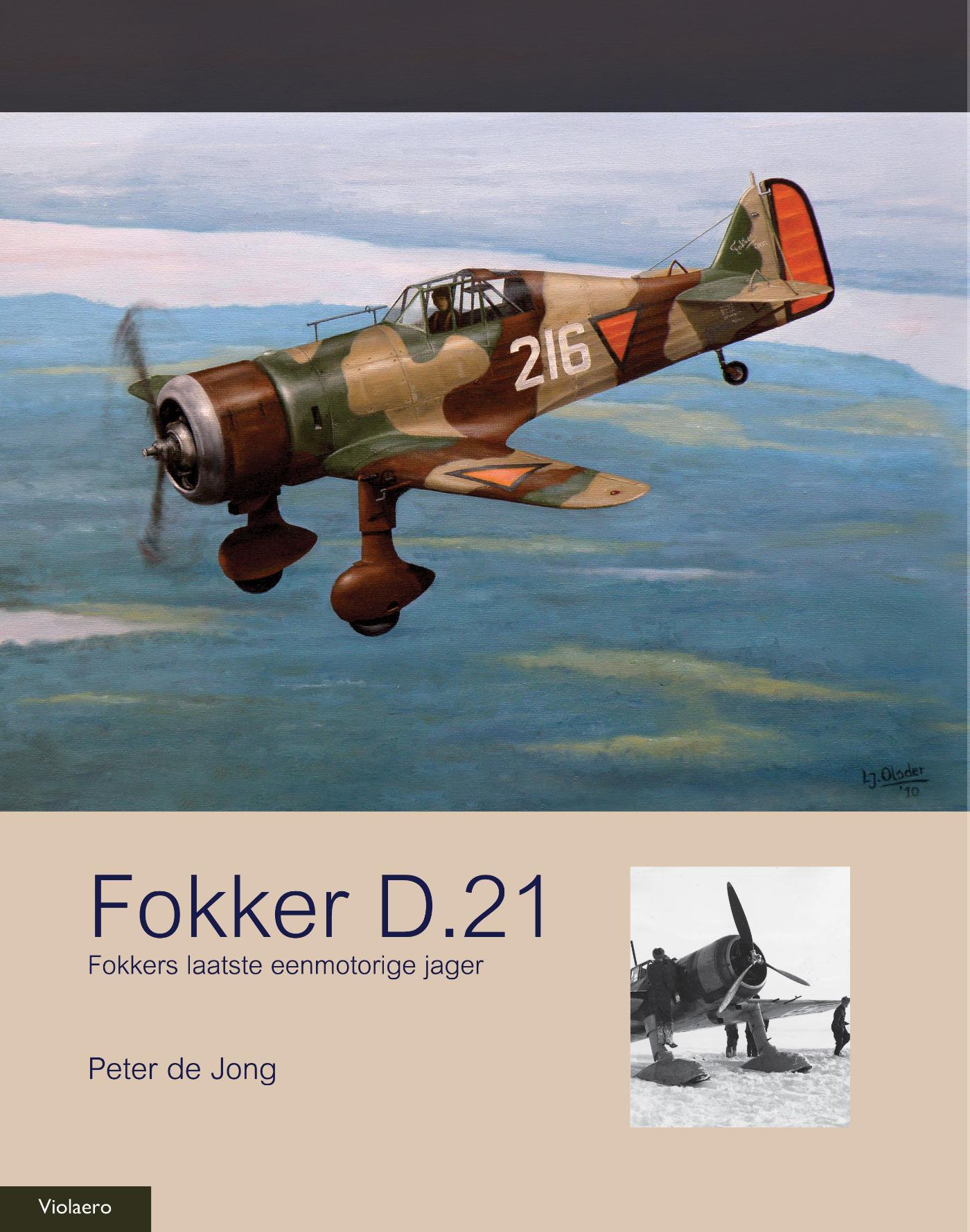 Cover Fokker D.21
