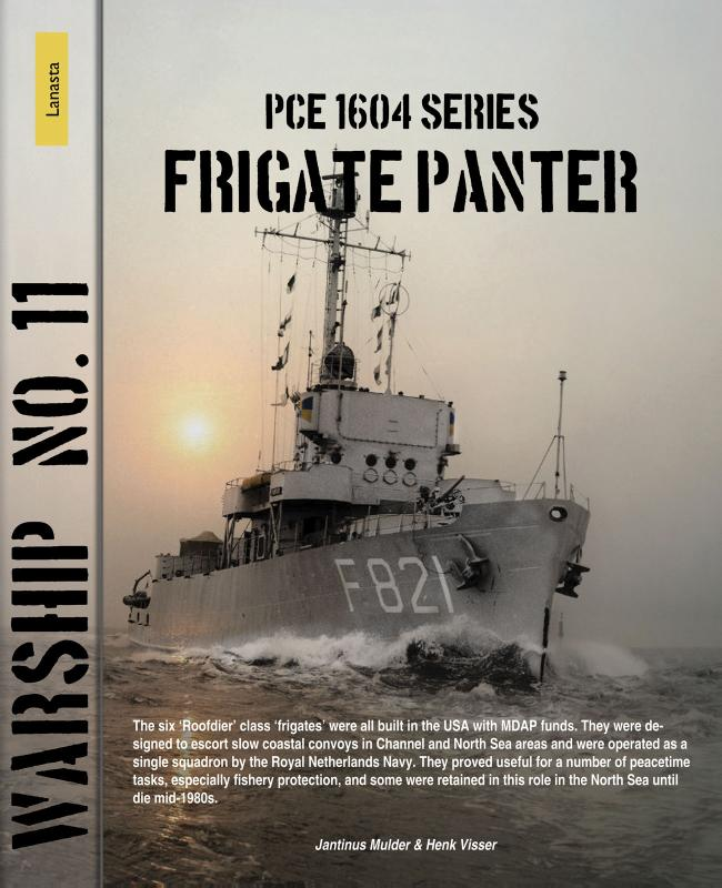 Cover PCE 1604 series, frigate Panter