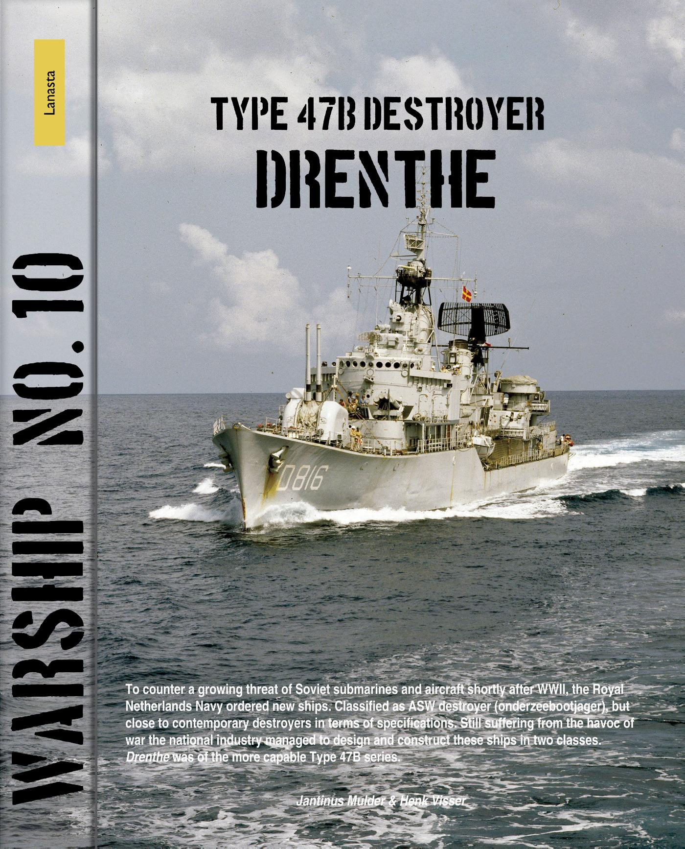 Cover Type 47B destroyer Drenthe