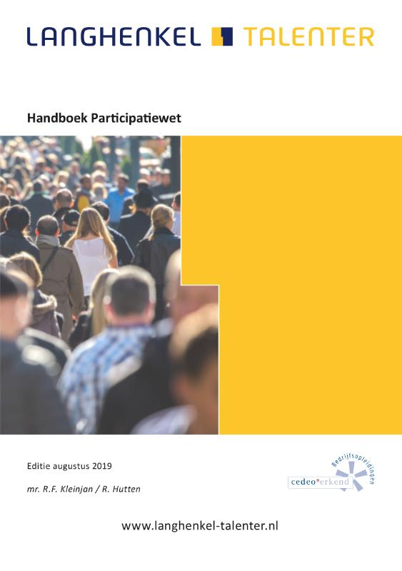 Cover Handboek Participatiewet