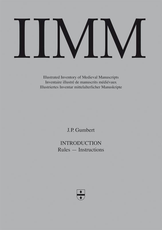 Cover Illustrated Inventory of Medieval Manuscripts in Latin script in the Netherlands