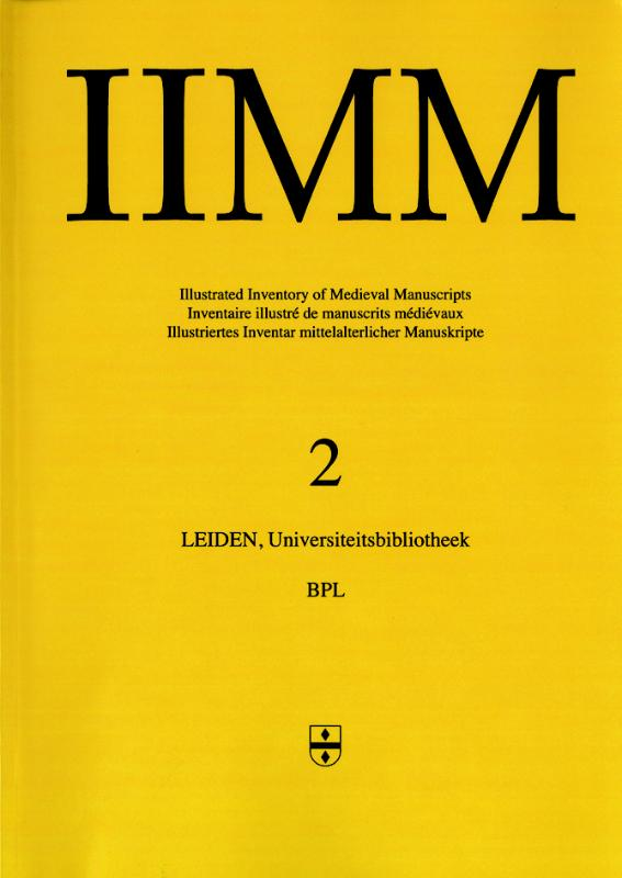 Cover Illustrated Inventory of Medieval Manuscripts in Latin script in the Netherlands 2