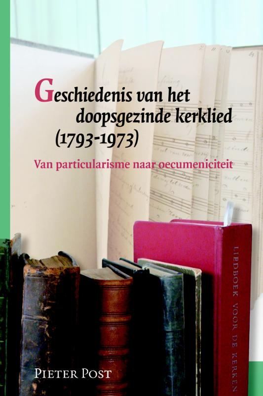 Cover Geschiedenis van het doopsgezinde kerklied (1793-1973)