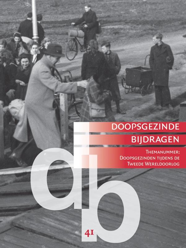 Cover Doopsgezinden tijdens de Tweede Wereldoorlog