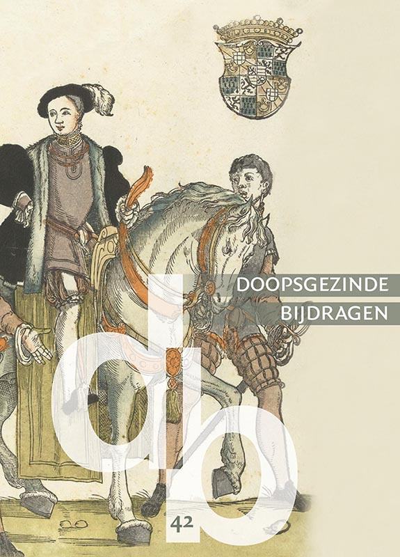 Cover Doopsgezinde Bijdragen, nieuwe reeks nummer 42 (2016)