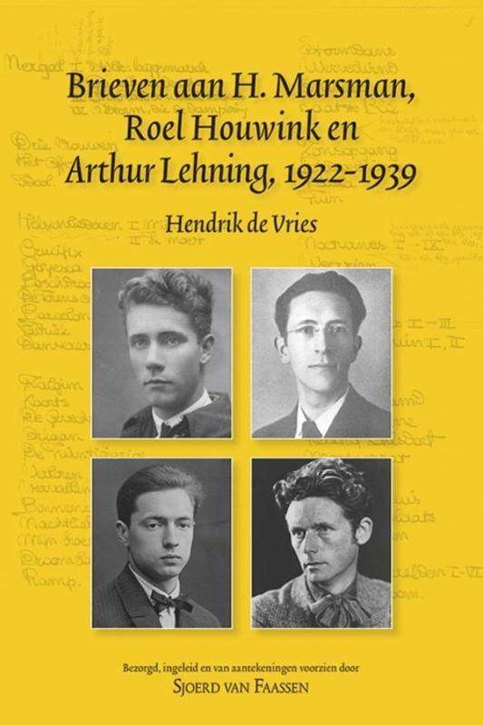 Cover Brieven aan H. Marsman, Roel Houwink en Arthur Lehning, 1922-1939