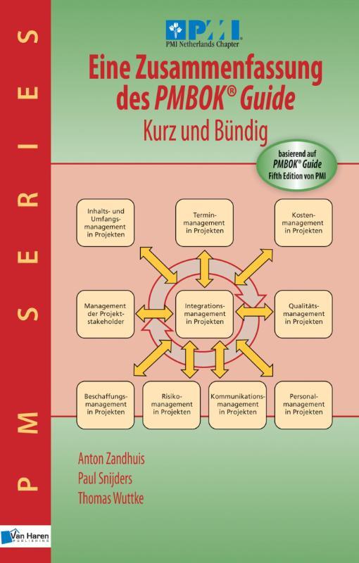 Cover Eine Zusammenfassung des PMBOK guide