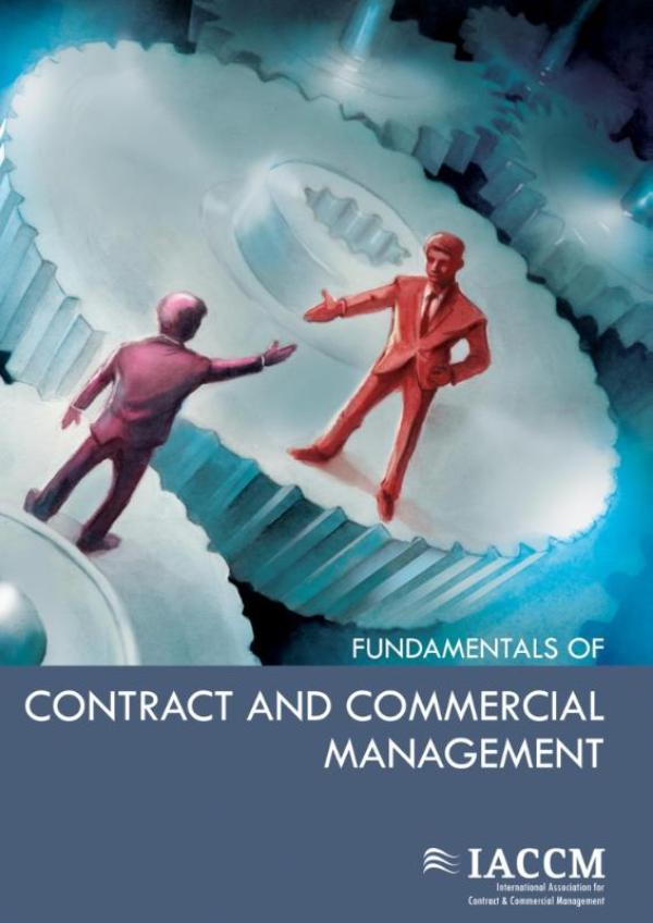 Cover Fundamentals of contract and commercial management
