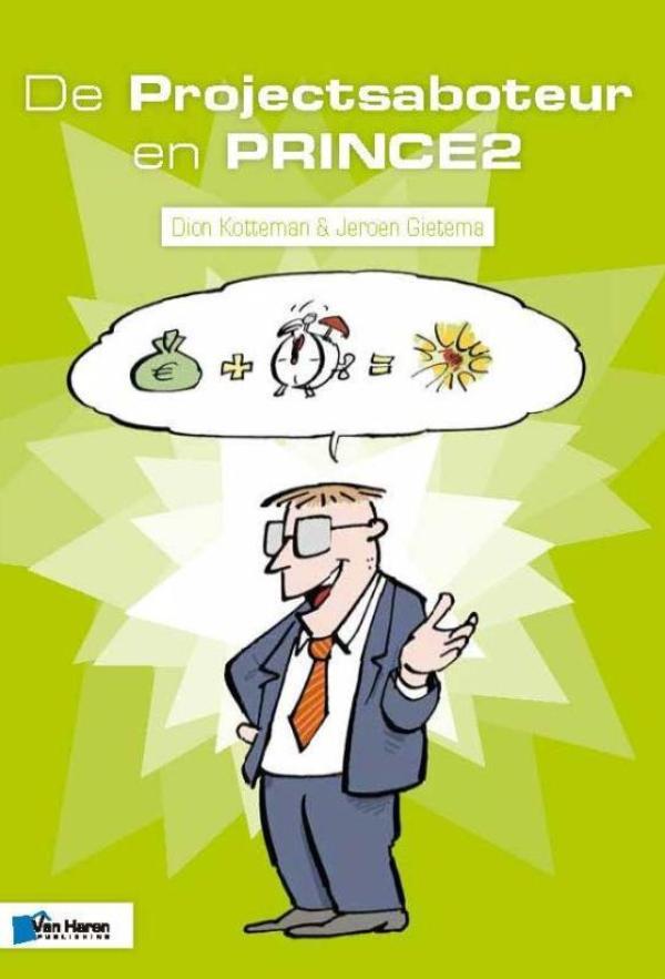 Cover De Projectsaboteur en PRINCE2