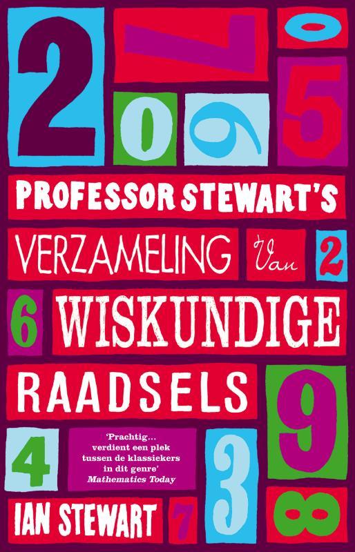 Cover Professor Stewart's verzameling van wiskundige raadsels