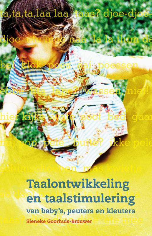 Cover Taalontwikkeling en taalstimulering van baby's, peuters en kleuters