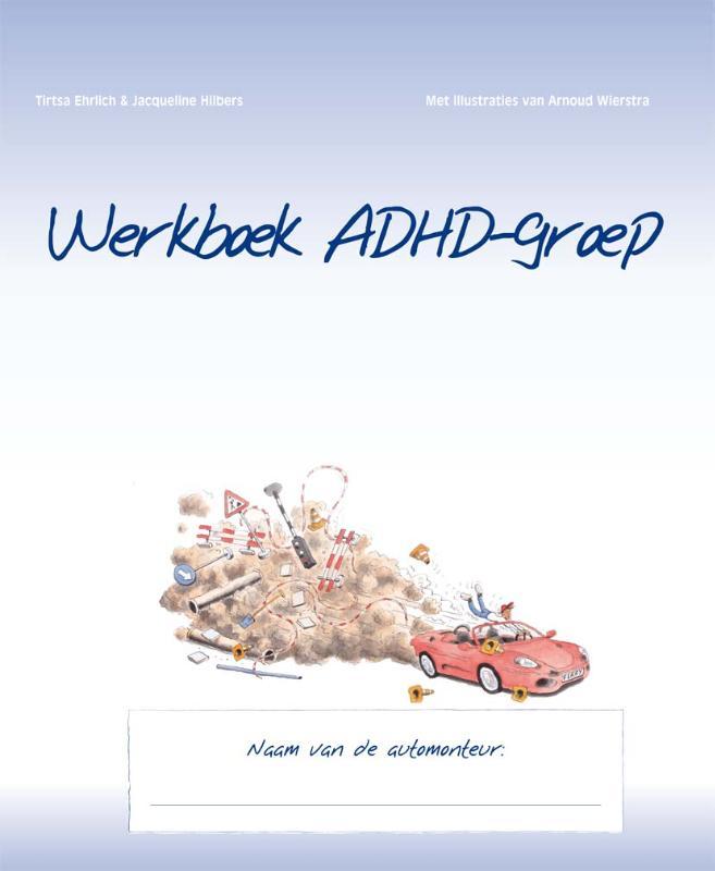 Cover Werkboek ADHD-groep