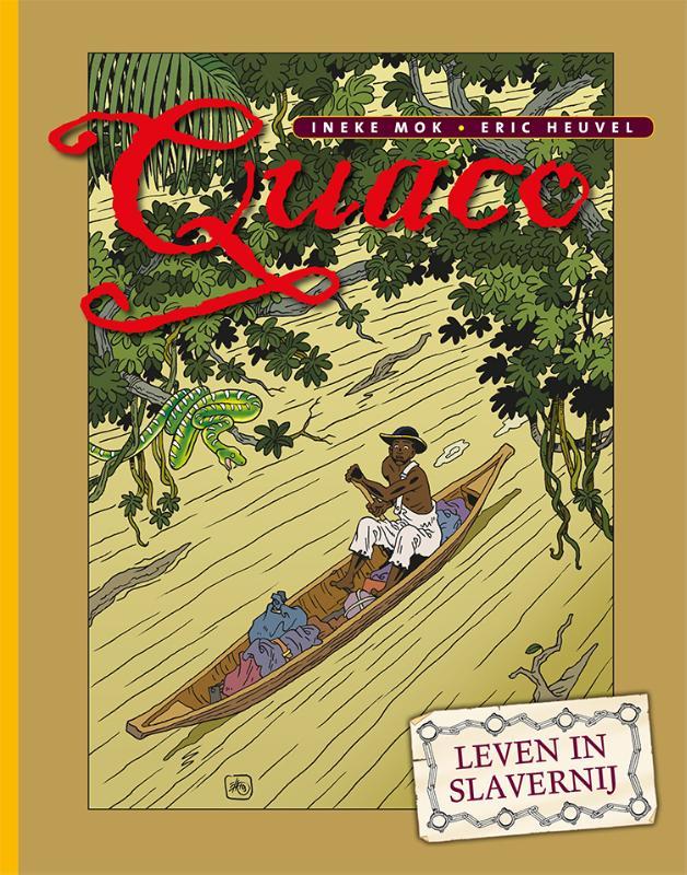 Cover Quaco-Leven in slavernij