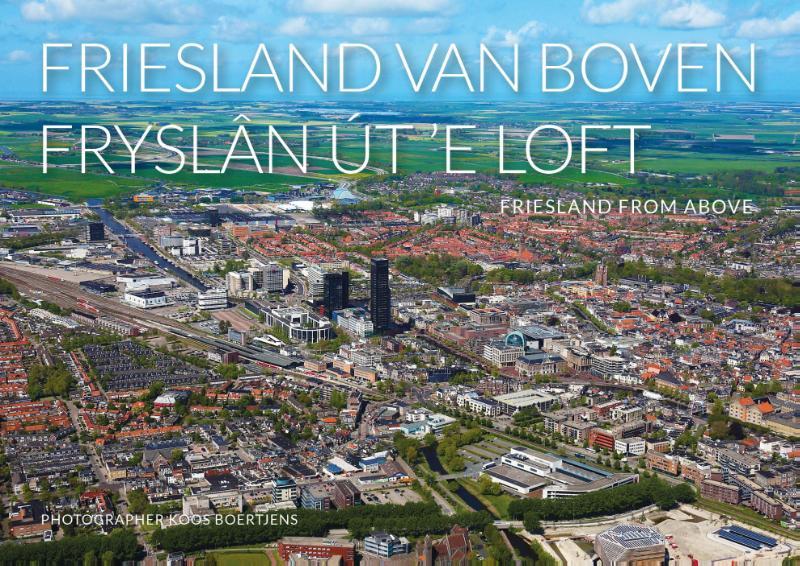 Cover Friesland van boven