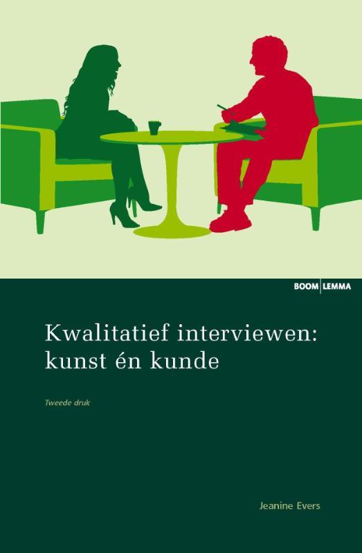 Cover Kwalitatief interviewen