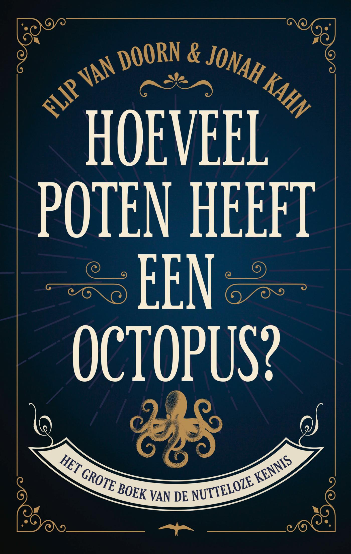 Cover Hoeveel poten heeft een octopus