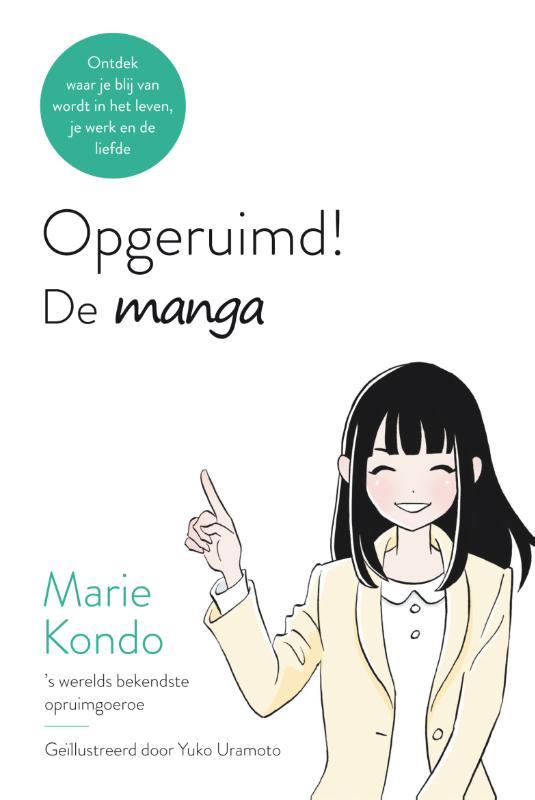 Cover Opgeruimd! De manga