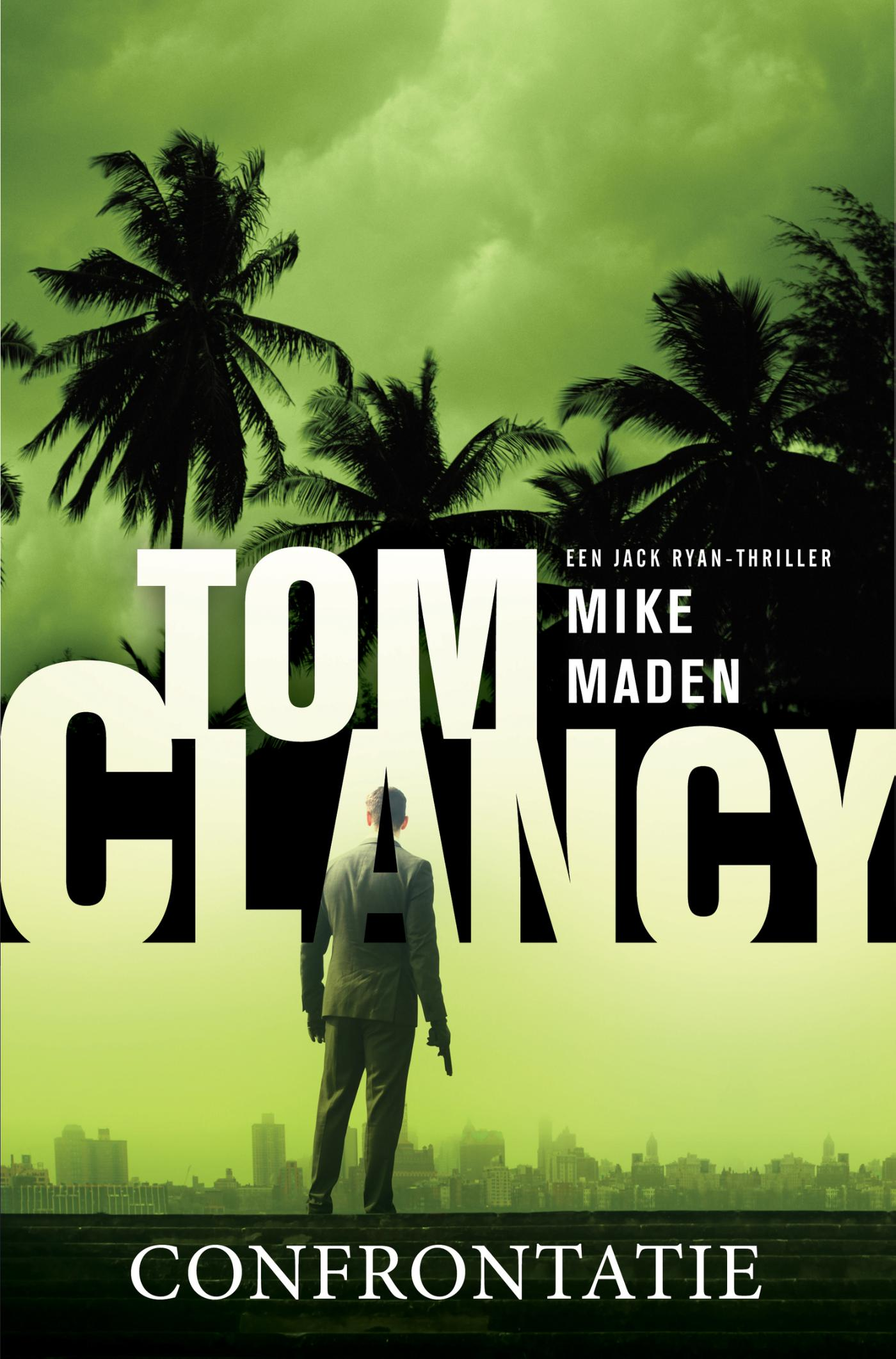 Cover Tom Clancy Confrontatie