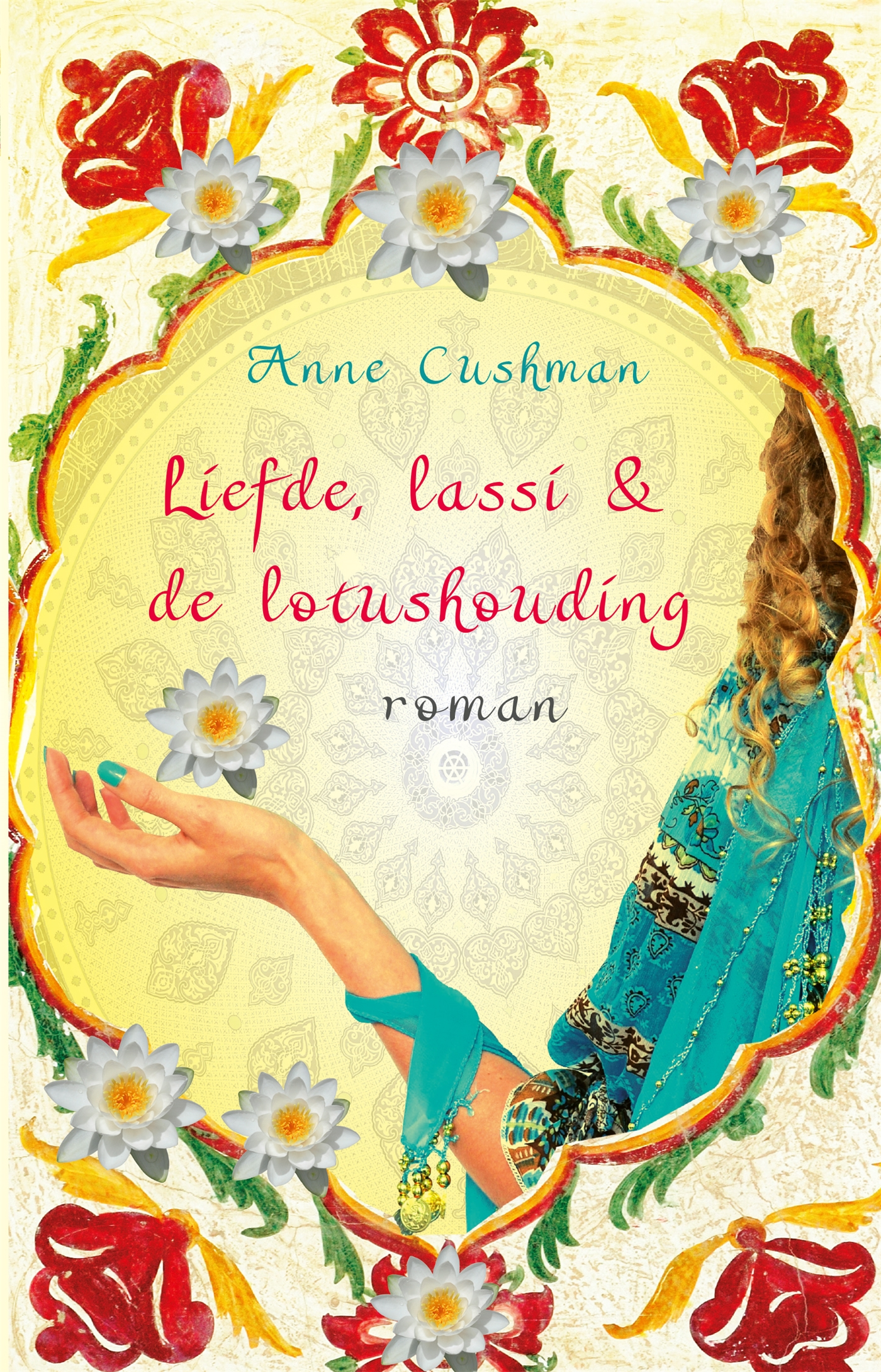 Cover Liefde, lassi & de lotushouding