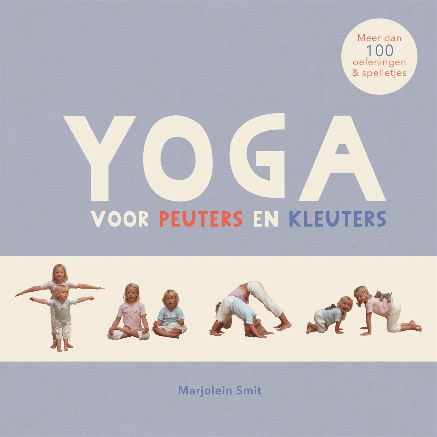 Cover Yoga voor peuters en kleuters