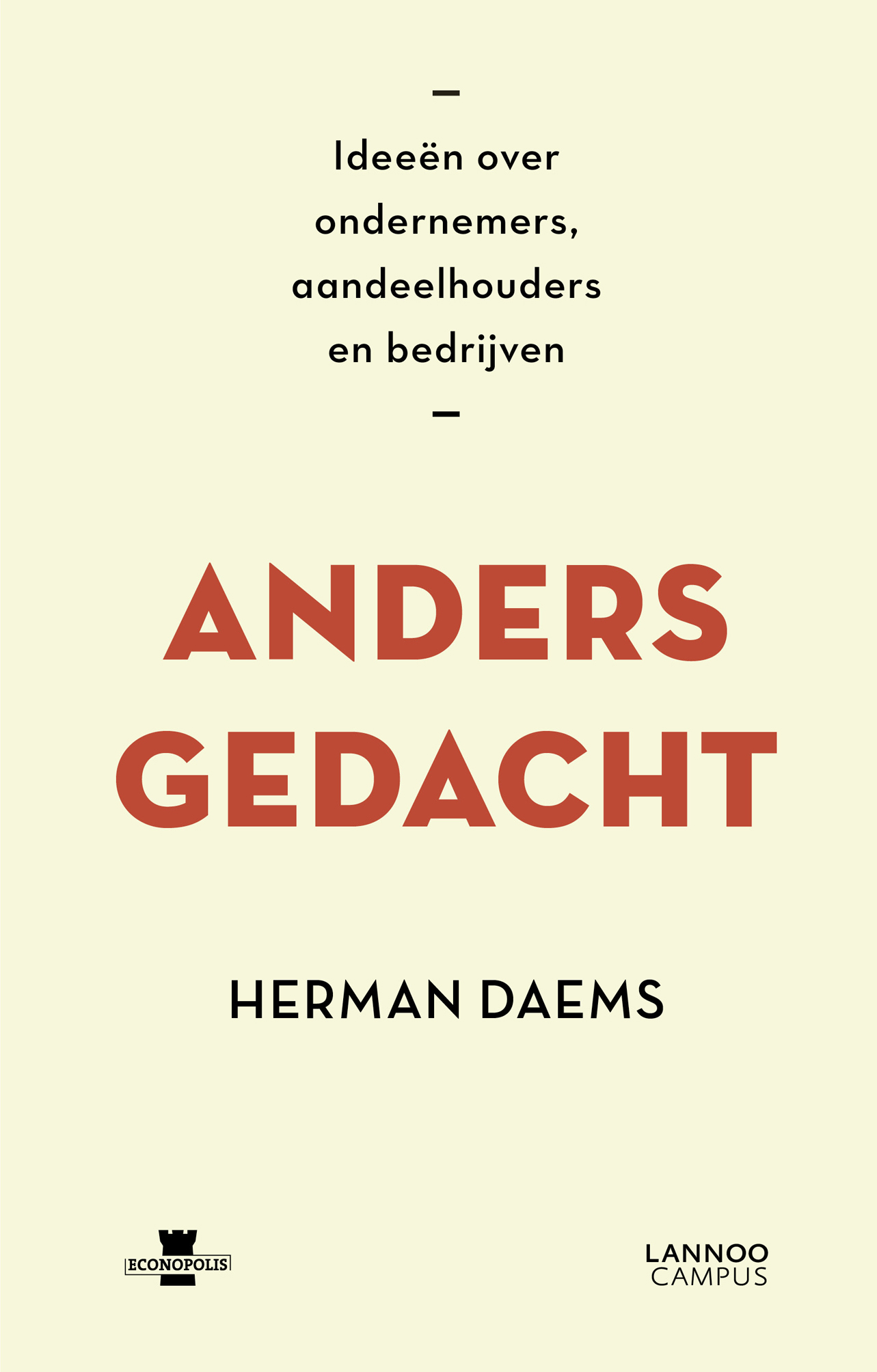 Cover Anders gedacht