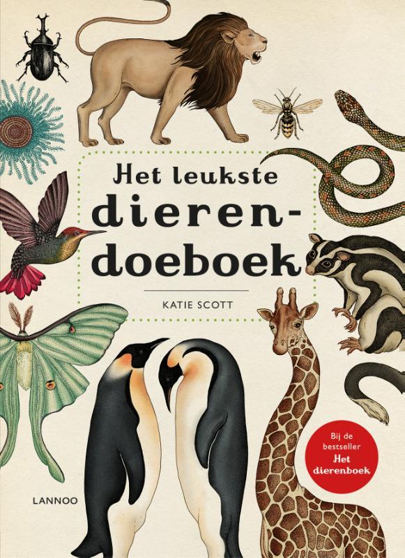 Cover Het leukste dierendoeboek