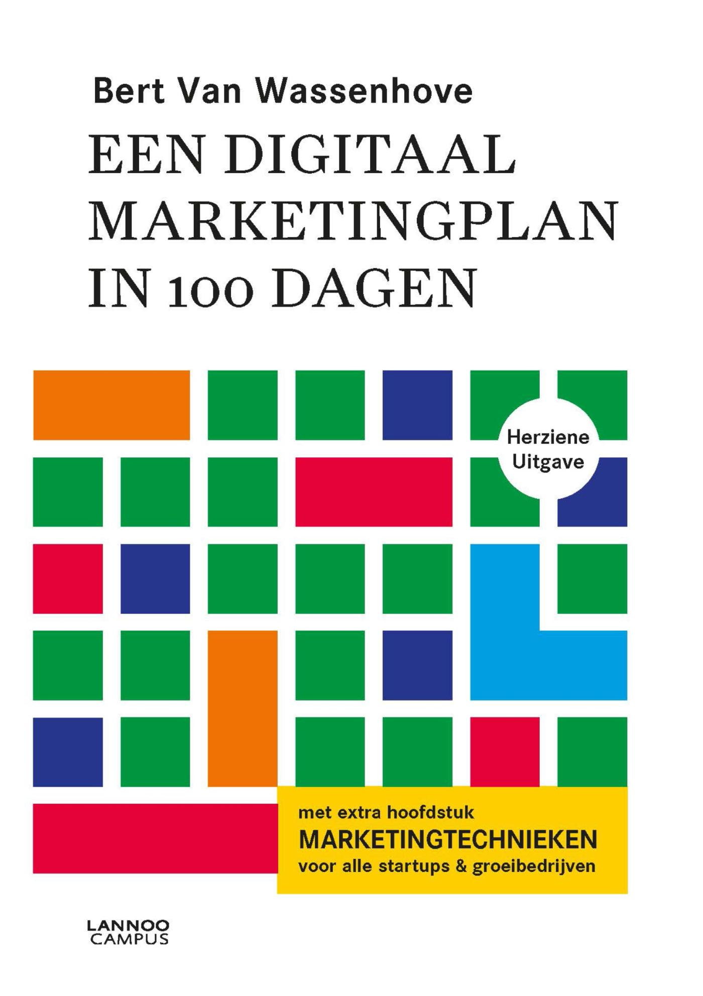 Cover Een digitaal marketingplan in 100 dagen