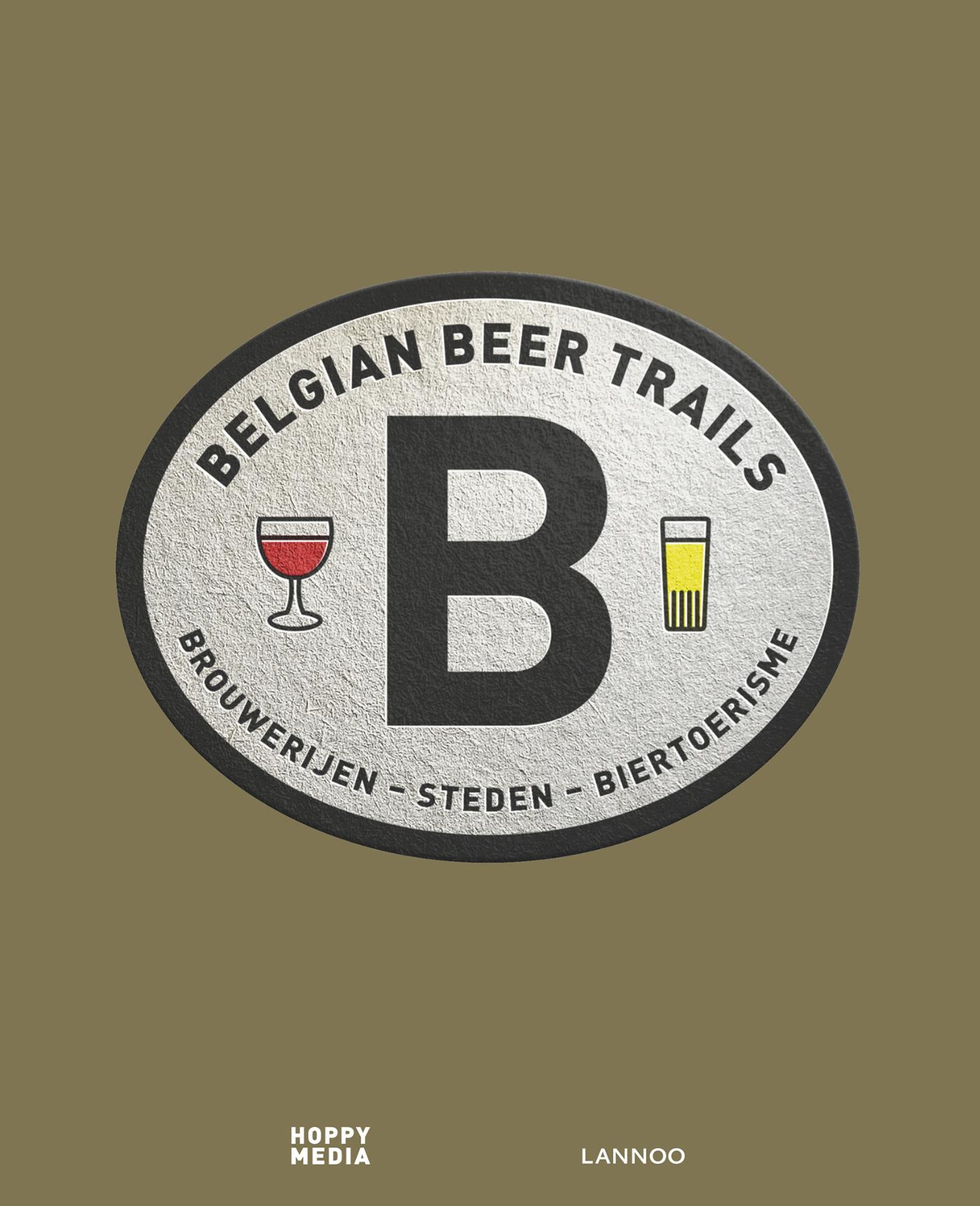 Cover Belgian beer trails