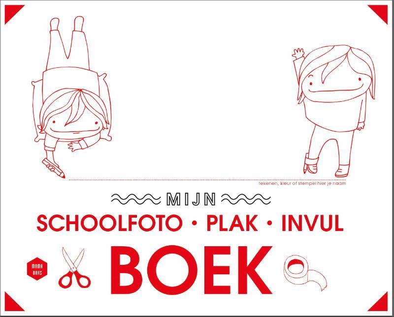 Cover Mijn schoolfoto-plak-invulboek