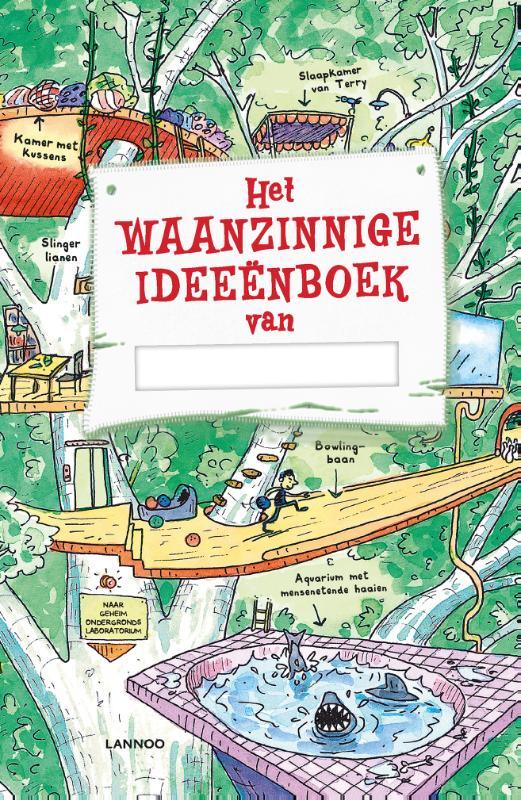 Cover Het waanzinnige ideeënboek