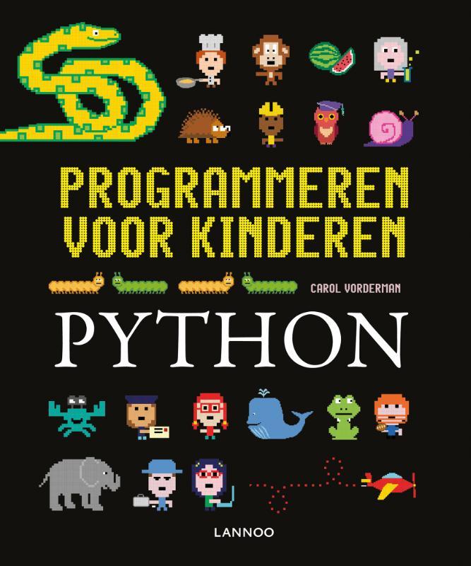 Cover Programmeren voor kinderen - Python