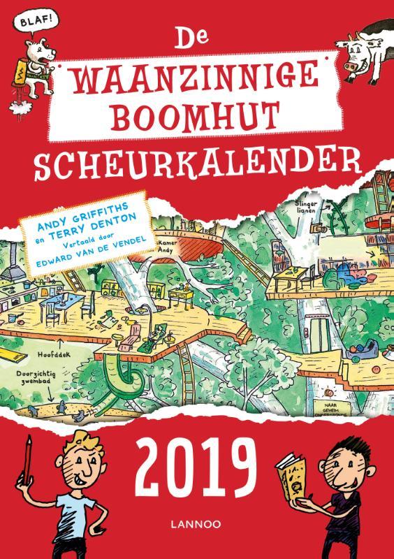 Cover De waanzinnige boomhut scheurkalender 2019