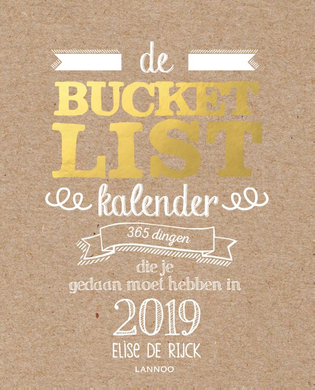 Cover De Bucketlist Scheurkalender 2019